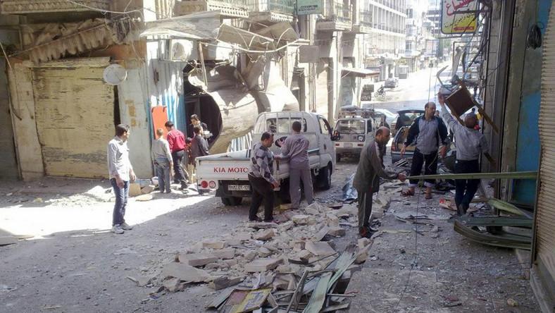 Unia chce uderzyć w klan Asada