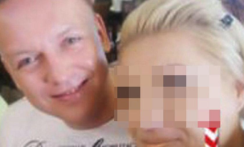 Tomasz Szmydt z żoną