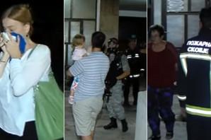 PANIKA U SKOPLJU Evakuisani stanari cele zgrade zbog SMRDLJIVIH PELENA, intervenisale specijalne jedinice i kad su otvorili stan ostali su NEMI (VIDEO)