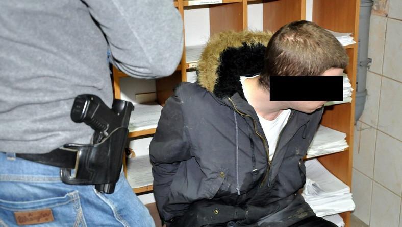Jacek T. ujęty przez policję