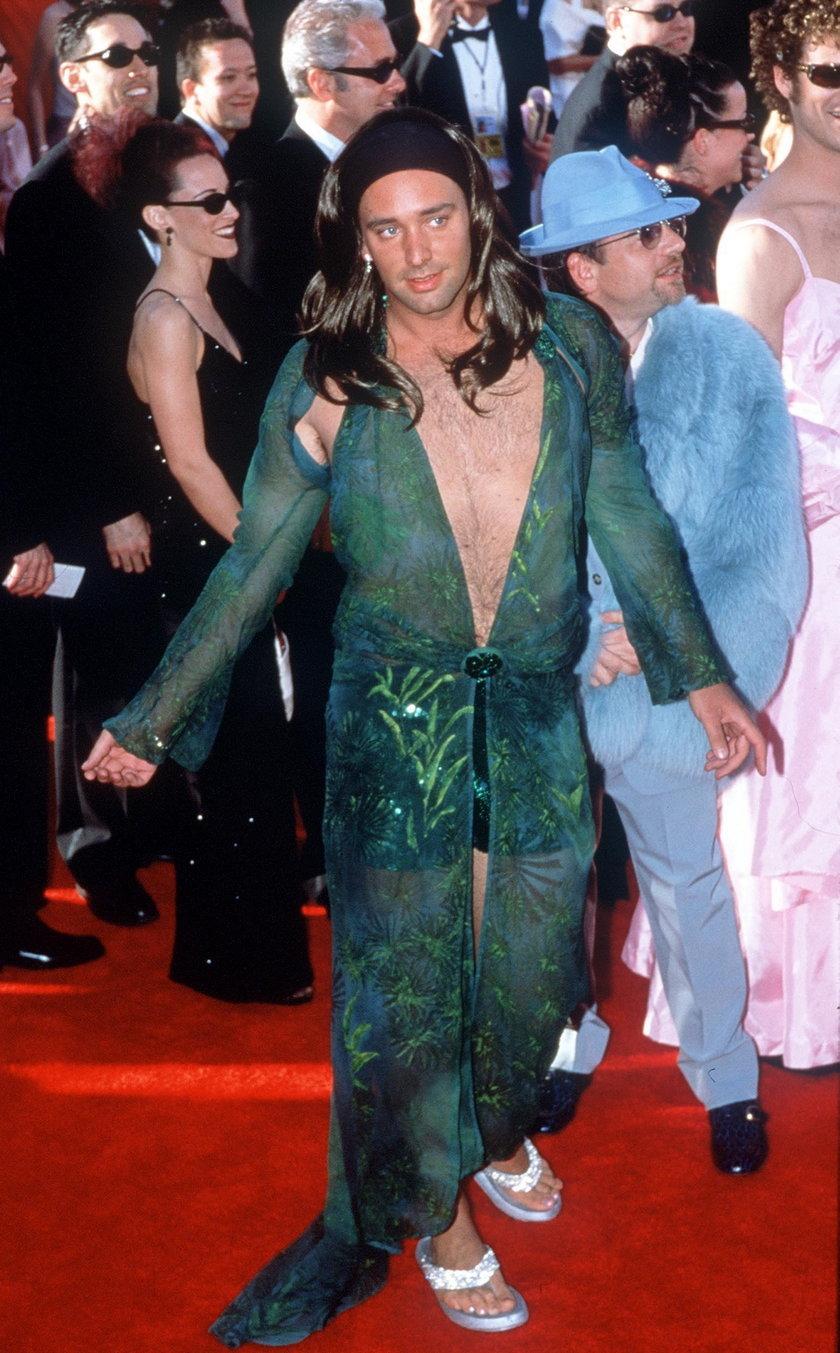 Matt Stone i Trey Parker na rozdaniu Oscarów