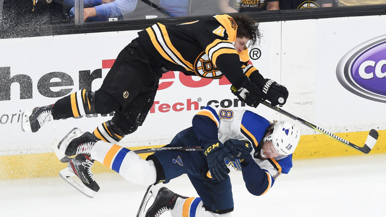 Boston Bruins - St. Louis Blues w finale NHL