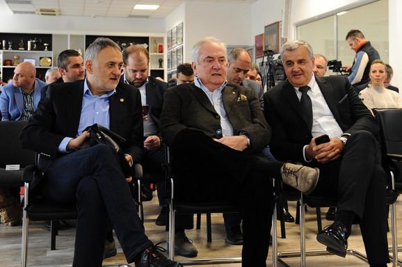 Počasni gosti na ceremoniji Rukometnog saveza Srbije