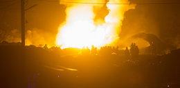 Pożar wysypiska śmieci w Brożku. Strażakom brakuje wody