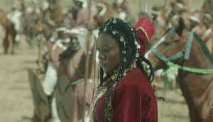 Lucy Ameh stars in the lead role as Queen Amina [JudithAudusblog]