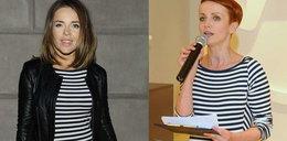 Herbuś i Zielińska w tej samej sukience
