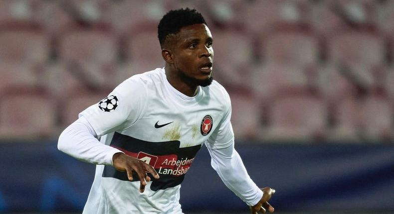 Frank Onyeka (Instagram/FC Midtjylland)
