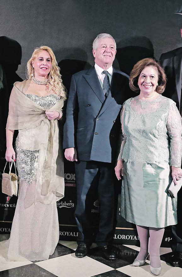 Katarina Karađorđević (desno) sa ćerkom alison i suprugom aleksandrom