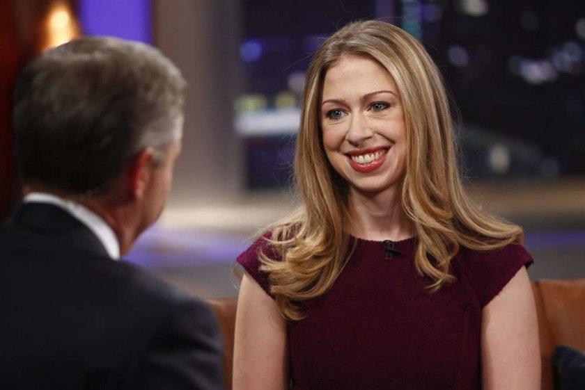 Córka prezydenta w telewizji