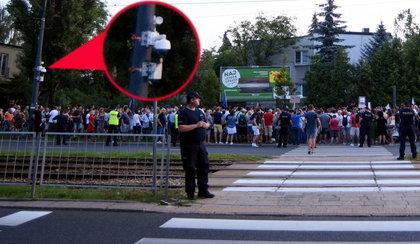 Kamery pod domem Kaczyńskiego. Śledziły protestujących, potem zniknęły