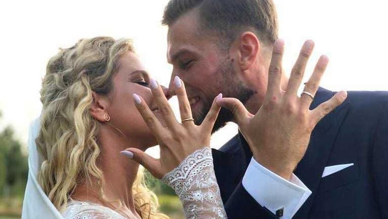 Taki wtorek #żona - tak ślubną fotografię podpisała Zofia na Instagramie