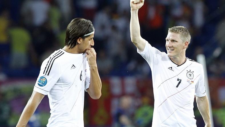 Sami Khedira i Bastian Schweinsteiger