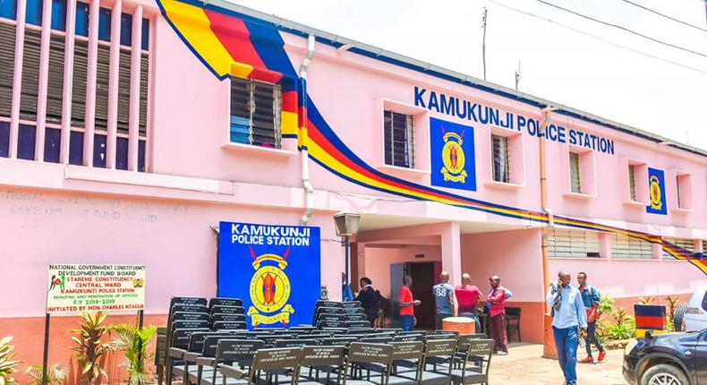 File image of Kamukunji Police Station