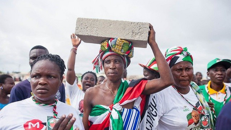 'Come for you stone' – Chorkor residents tell Mahama