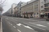Puste prazne ulice Dan državnosti Sretenje Beograd