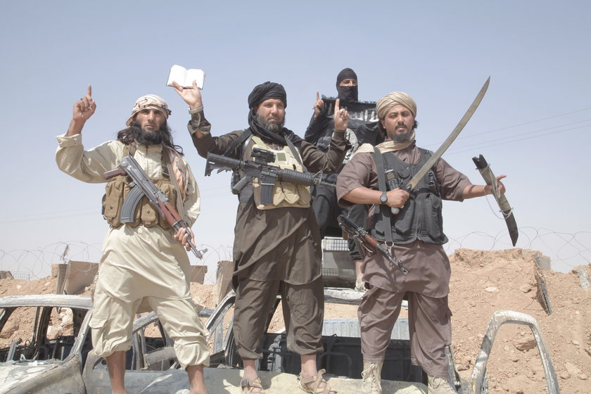Syria Bojownicy ISIS