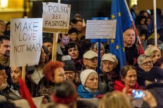 'Faszyzm nie przejdzie'. Demonstracja środowisk antyfaszystowskich we Wrocławiu