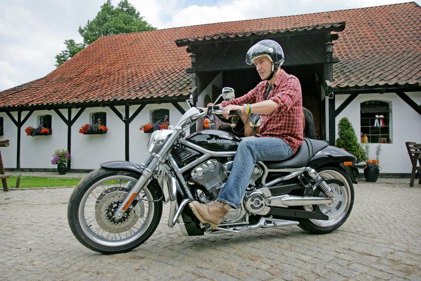 Gwiazdy kochają jazdę na motorze