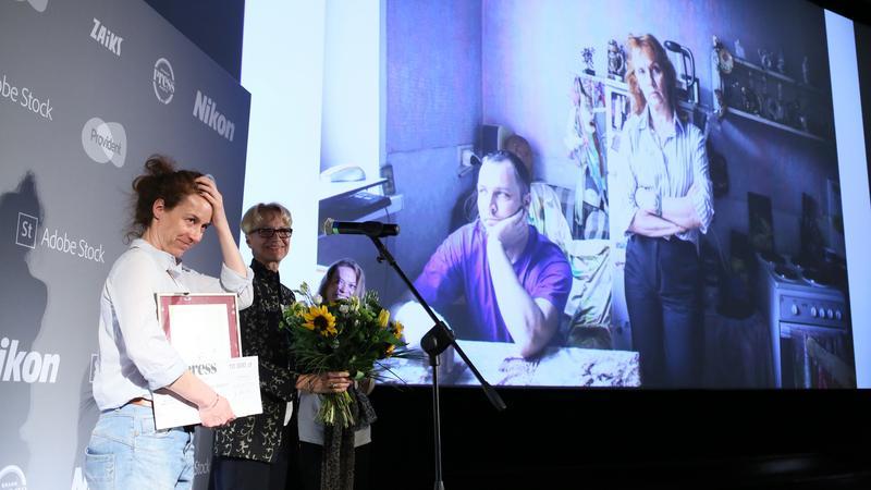 Anna Bedyńska na gali Grand Press Photo 2017