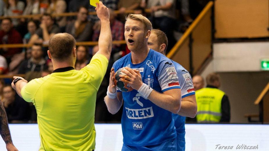 Philip Stenmalm ma odejść z Orlen Wisły Płock. Wróci do Szwecji?
