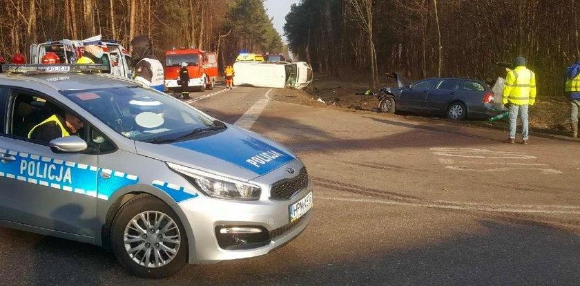 Tragiczny wypadek na Podlasiu. Nie żyje jedna osoba