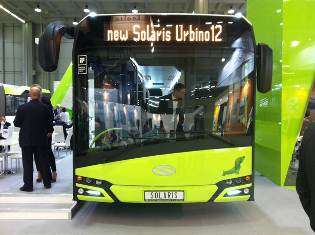 Solaris Urbino 12 nowej generacji podczas UITP