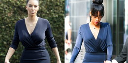 Kim i Rihanna w tej samej sukience