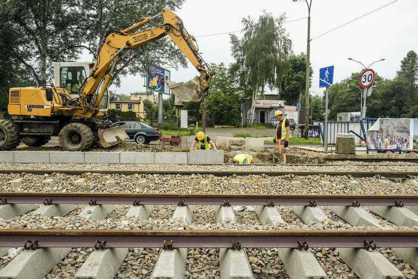 Opoznienia inwestycji tramwajowych w Zaglebiu
