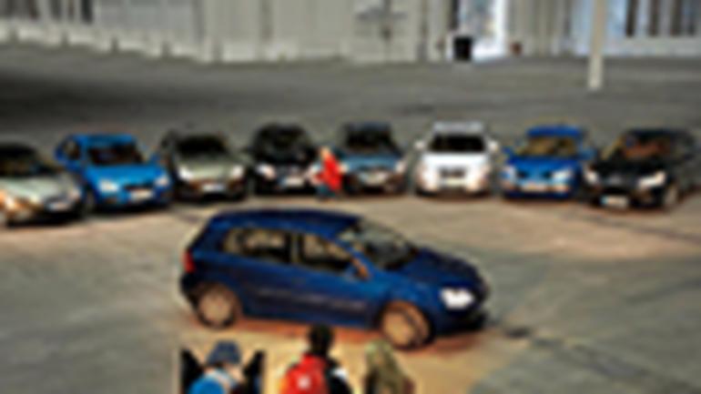 Astra, Focus, Bravo, Auris, Cee'd, C4, Civic, Megane - Osaczony Golf