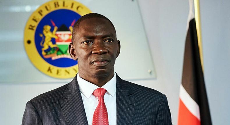 File image of Government spokesman Col Cyrus Oguna