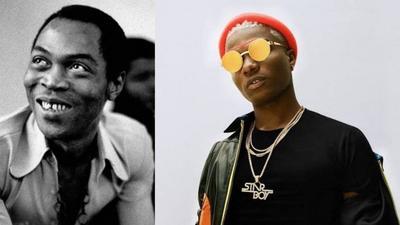 Wizkid says his aim is not to make music like Fela