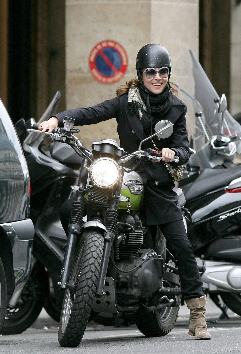 Gwiazdy jeżdżą na motorze