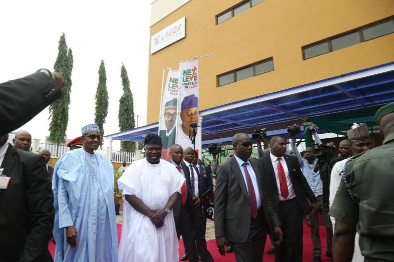 Read Buhari's remarks at inauguration of Oshodi Transport Interchange, Airport road in Lagos [Twitter/@AkinwunmAmbode]