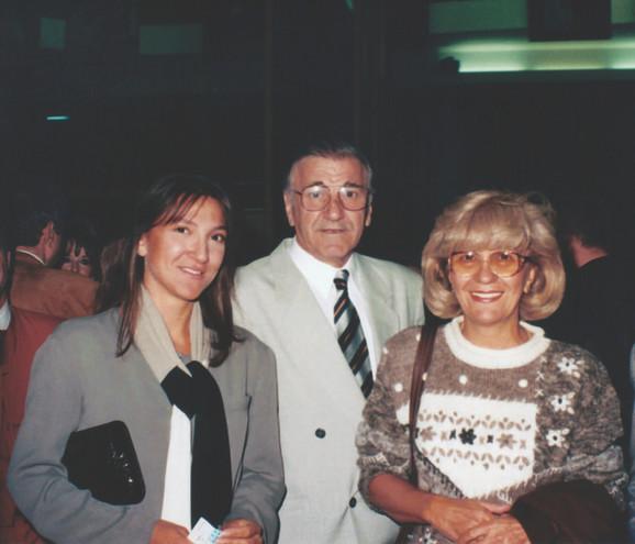 Porodica: Bata i Lula (na slici sa ćerkom Jelenom) imaju šestoro unuka