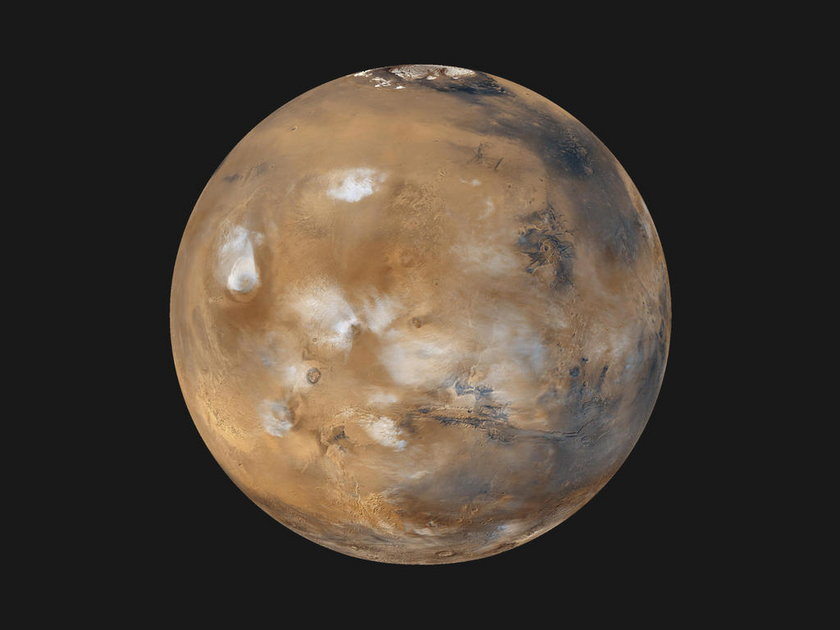 Życie na Marsie?
