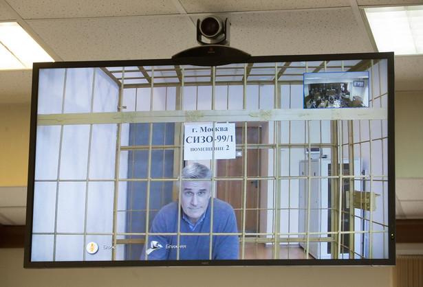 Michael Calvey w moskiewskim sądzie, 28 lutego 2019 r.