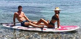 Laura Lewandowska jest owocem wielkiej miłości. To działo się 9 miesięcy temu na Mykonos. MAMY ZDJĘCIA