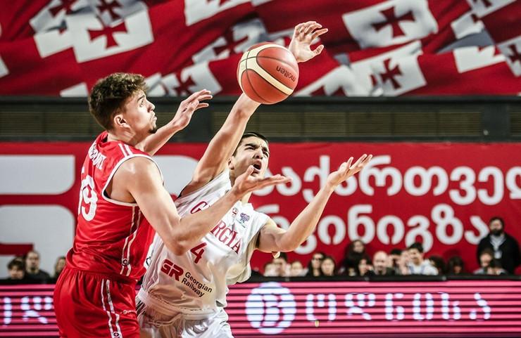 Košarkaška reprezentacija Gruzije