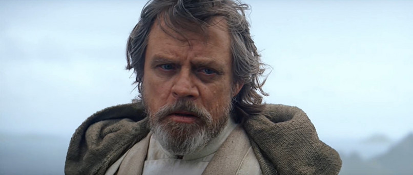 "Luke Skywalker în ""The Force Awakens"" (foto: youtube.com)"