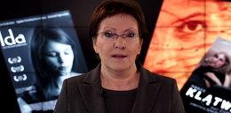 Ewa Kopacz o Oscarach! Nagrała o tym klip!