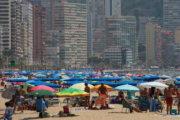 Na ovo zaboravite: Plaža u Benidormu, Španija