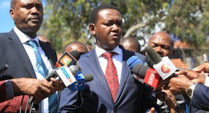 Governor Mutua bans boda boda operations in Machakos