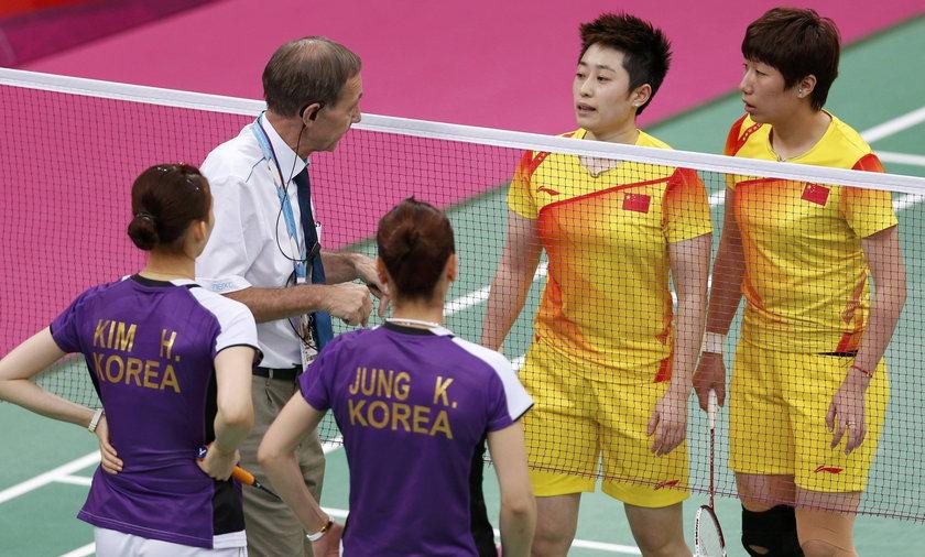 Skandal na igrzyskach. Badmintonistki chciały ustawiać mecze?