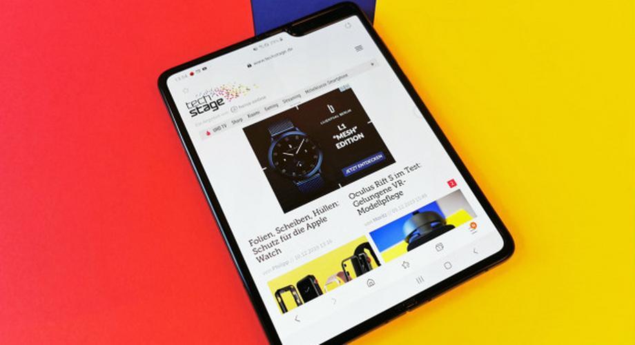 Galaxy Fold im Test: faltbares Display, Top-Ausstattung