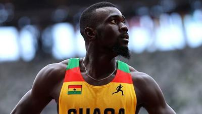 Tokyo 2020: Joseph Amoah qualifies for semi-final after finishing 3rd in men's 200m heat