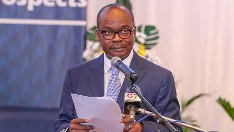 Image result for Governor of the Bank of Ghana, Dr Ernest Addison