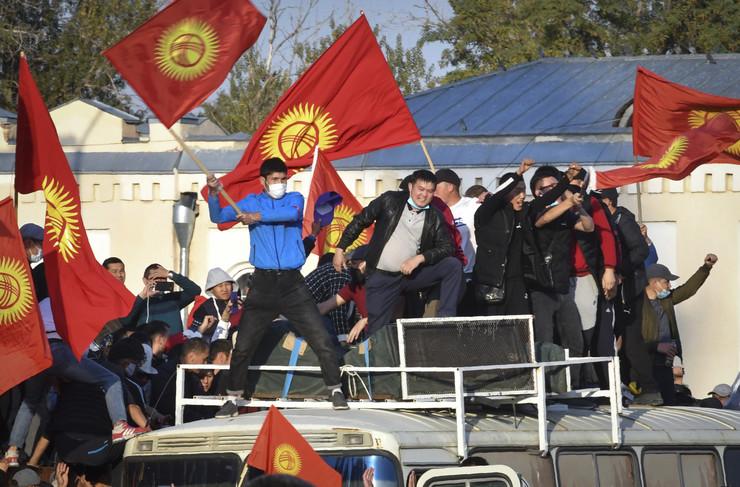 Demonstracije u Kirgistanu