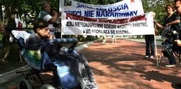 Opiekunowie niepełnosprawnych pójdą pod Sejm!