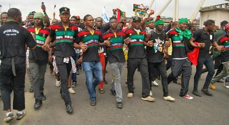 IPOB orders its members to attack South-East governors abroad. (BBC)