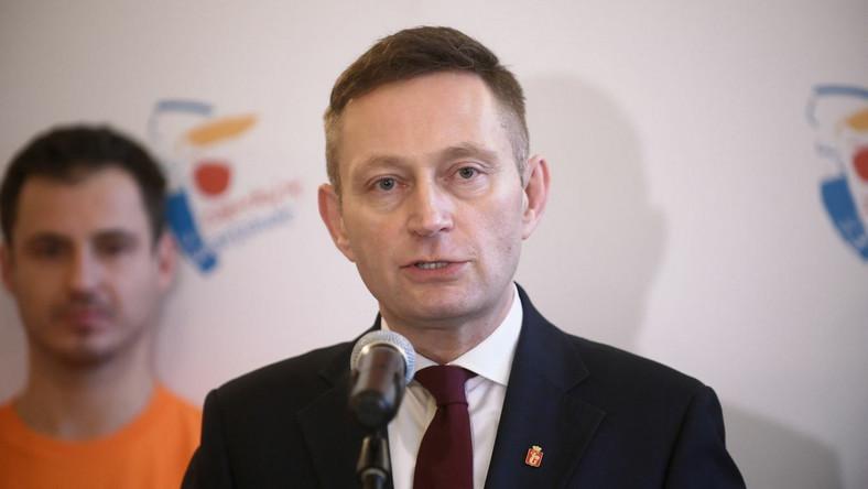 Wiceprezydent Warszawy Paweł Rabiej